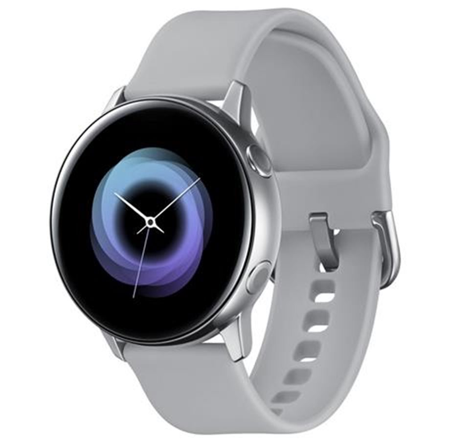 SAMSUNG Galaxy Watch Active R500, Stříbrná