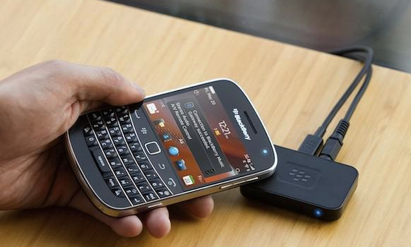 BlackBerry Music Gateway - s technologií NFC