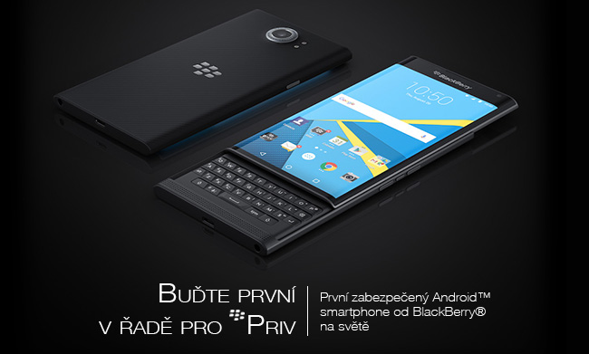 PRIV™ by BlackBerry® - Powered by Android™