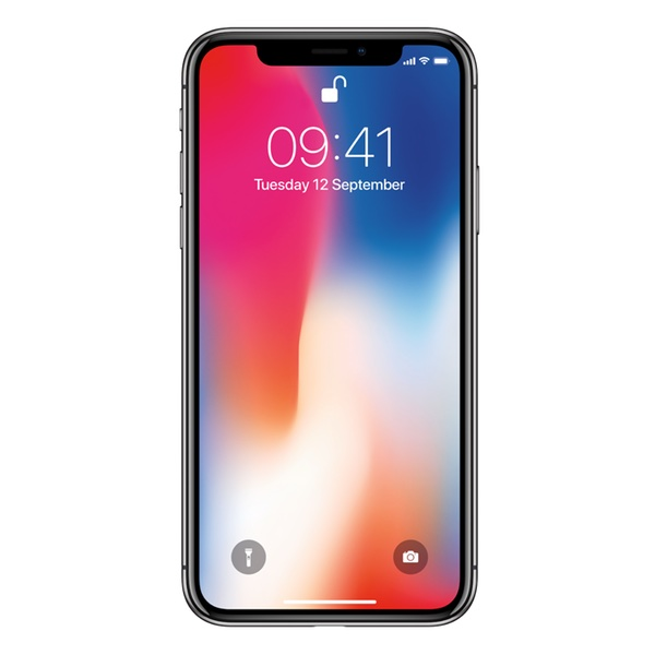 Apple iPhone X 256 GB, Vesmírně šedá