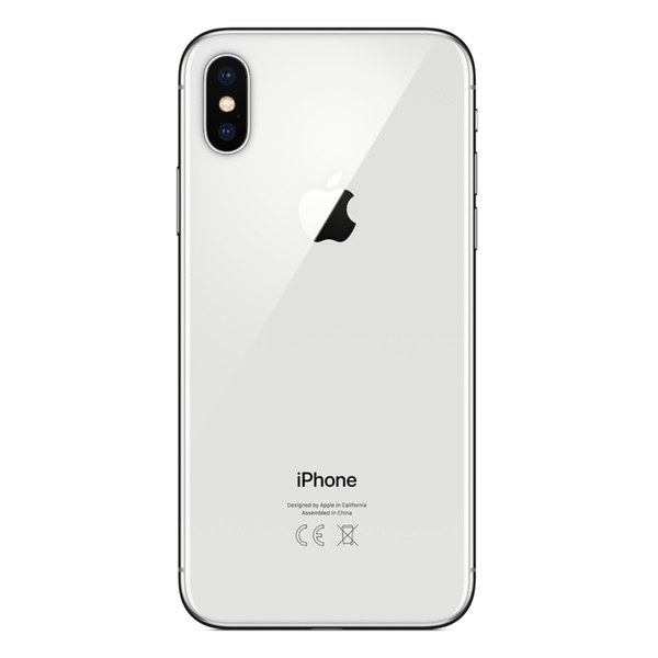 Apple iPhone X 256 GB, Stříbrná