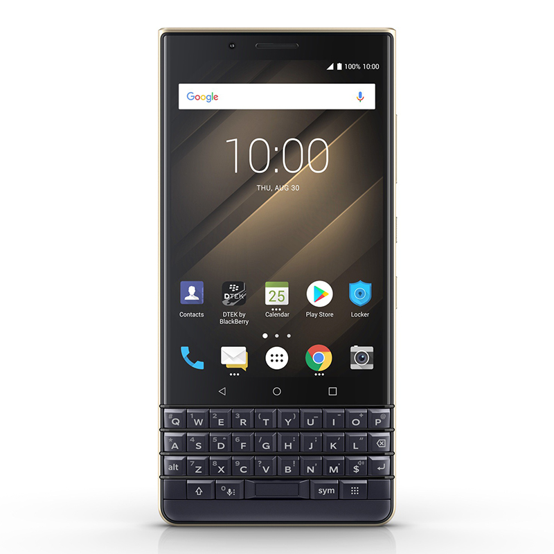 BlackBerry KEY2 LE 64GB Dual-SIM, Zlatá (QWERTY)