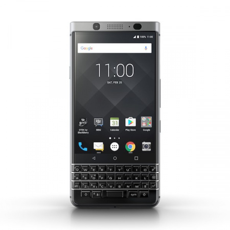 BlackBerry KEYone 32 GB, Stříbrná (QWERTY)