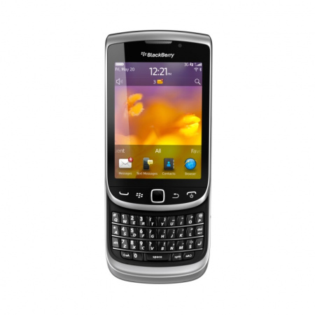 BlackBerry Torch 9810, QWERTY, Stříbrná