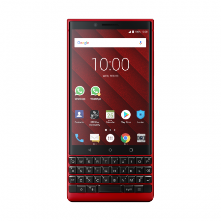 BlackBerry KEY2 128GB, Red Edition (Červená) (Dual-SIM, QWERTY)
