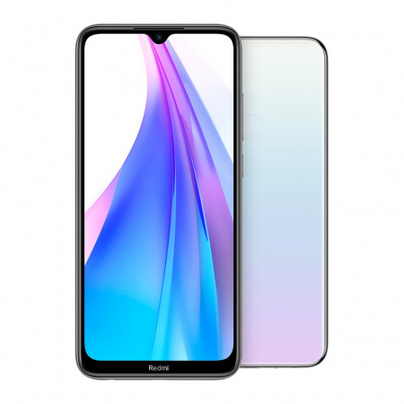 Xiaomi Redmi Note 8T Dual SIM 64GB/4GB, Moonlight White (Bílá)