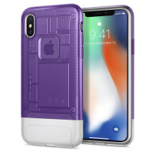Odolný Kryt Spigen® Classic C1 pro Apple iPhone X, Grape