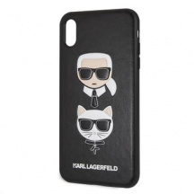 Pouzdro Karl Lagerfeld Karl and Choupette pro Apple iPhone XS Max
