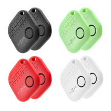 Sledovací Bluetooth přívěsek Fixed Key Finder Smile, set 8 ks, Mix barev