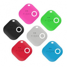 Sledovací Bluetooth přívěsek FIXED Key Finder Smile s motion senzorem 6-PACK