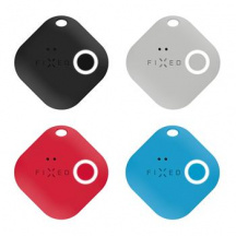 Sledovací Bluetooth přívěsek FIXED Key Finder Smile s motion senzorem 4-PACK