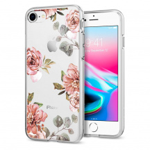 Odolný Kryt Spigen® Liquid Crystal™ Aquarelle pro Apple iPhone 7/8, Rose
