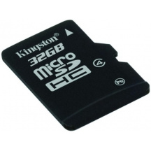 Paměťová karta 32 GB Kingston microSDHC, Class 4