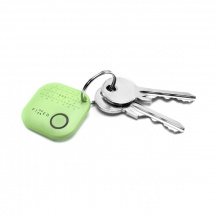 Sledovací Bluetooth přívěsek Fixed Key Finder Smile, Zelená