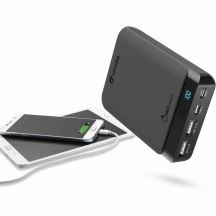 Powerbanka CellularLine PowerUp USB-C, 10 000 mAh, Černá