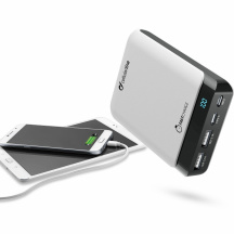Powerbanka CellularLine PowerUp USB-C, 10 000 mAh, Bílá