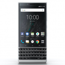 BlackBerry KEY2 64GB, Stříbrná (QWERTY)