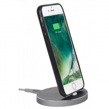 StilGut® Dokovací stanice AirDock Oval pro Apple iPhone, Space Grey