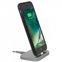 StilGut® Dokovací stanice AirDock Square pro Apple iPhone, Space Grey