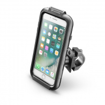 Pouzdro na kolo/moto CellularLine Interphone iCase Holder pro Apple iPhone 6/6s/7/8 Plus, Černá